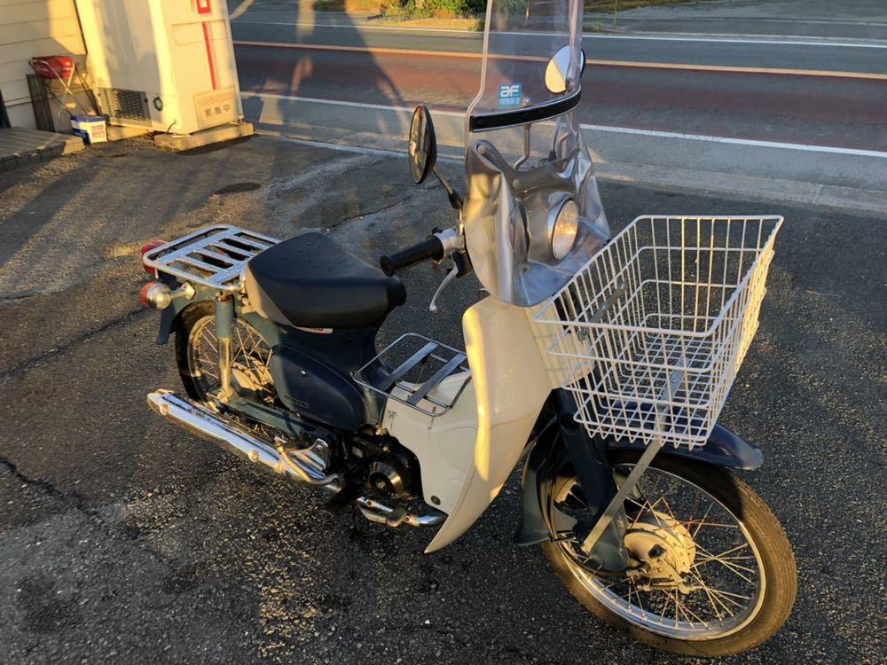 福岡県南部発 ホンダ カブ50 FI リースアップ 新車ワンオーナー 銀行で使用 近県配達可 AA01_画像2