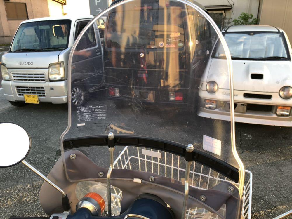 福岡県南部発 ホンダ カブ50 FI リースアップ 新車ワンオーナー 銀行で使用 近県配達可 AA01_画像6