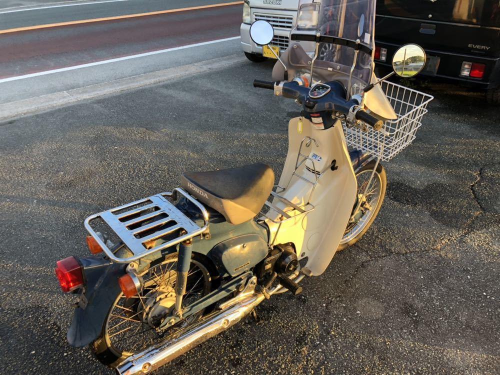 福岡県南部発 ホンダ カブ50 FI リースアップ 新車ワンオーナー 銀行で使用 近県配達可 AA01_画像4