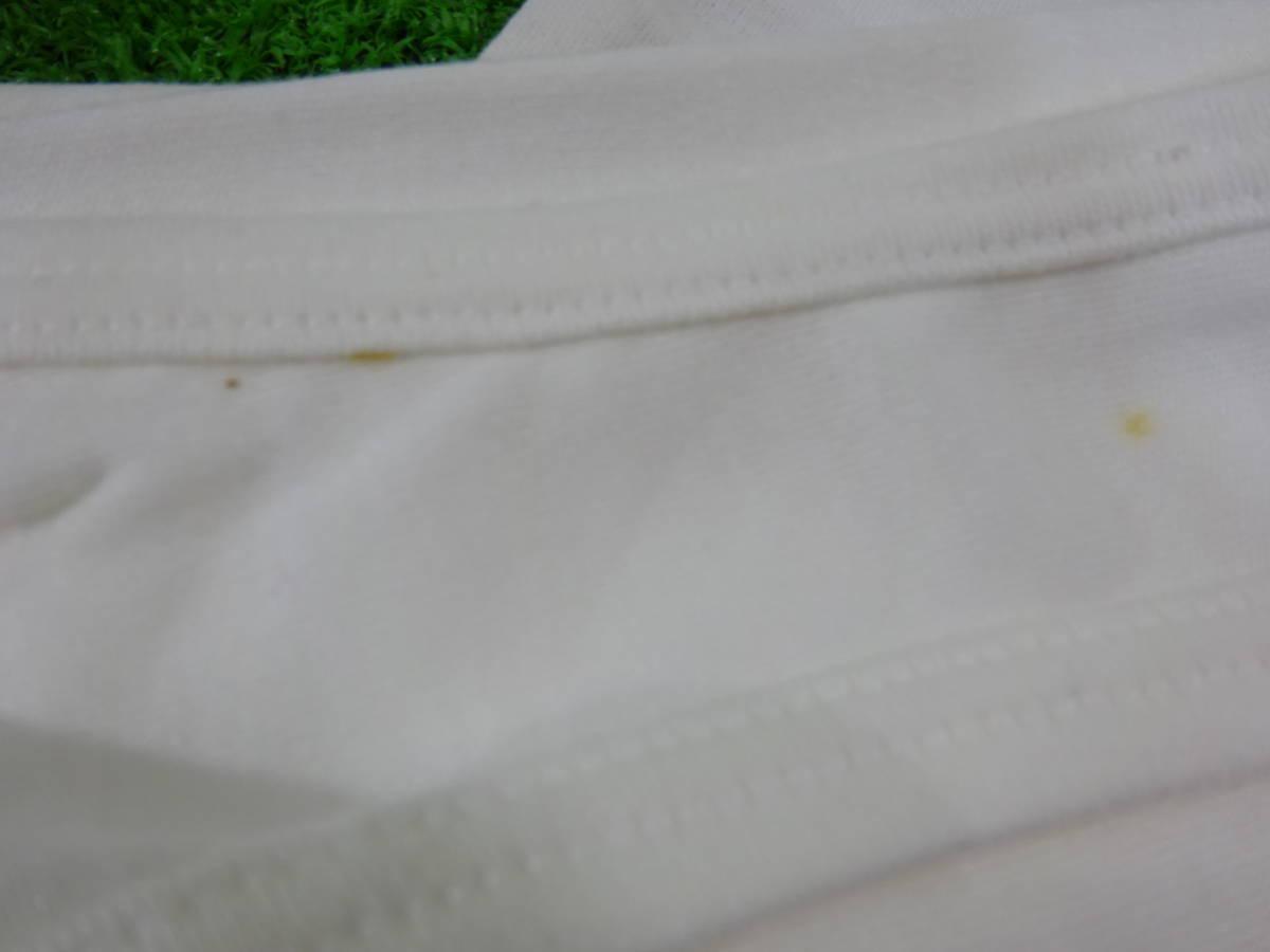 (o)スポーツ用品店閉店【未使用】adidas アディダス ADS-115 タンクトップ ランニングシャツ サイズ:S/M 5点 ビンテージ 旧ロゴ 汚れアリ_画像8