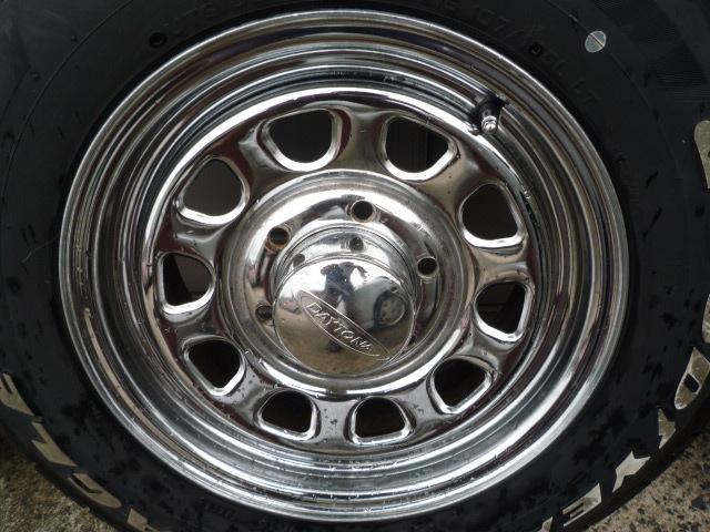 DAYTONA デイトナ クローム グッドイヤー ナスカー 車検OK 195/80R15 200系ハイエース NV350キャラバン レジアスエース_画像8