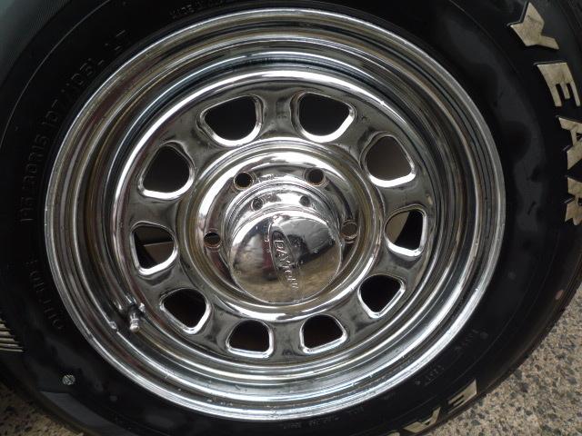 DAYTONA デイトナ クローム グッドイヤー ナスカー 車検OK 195/80R15 200系ハイエース NV350キャラバン レジアスエース_画像9