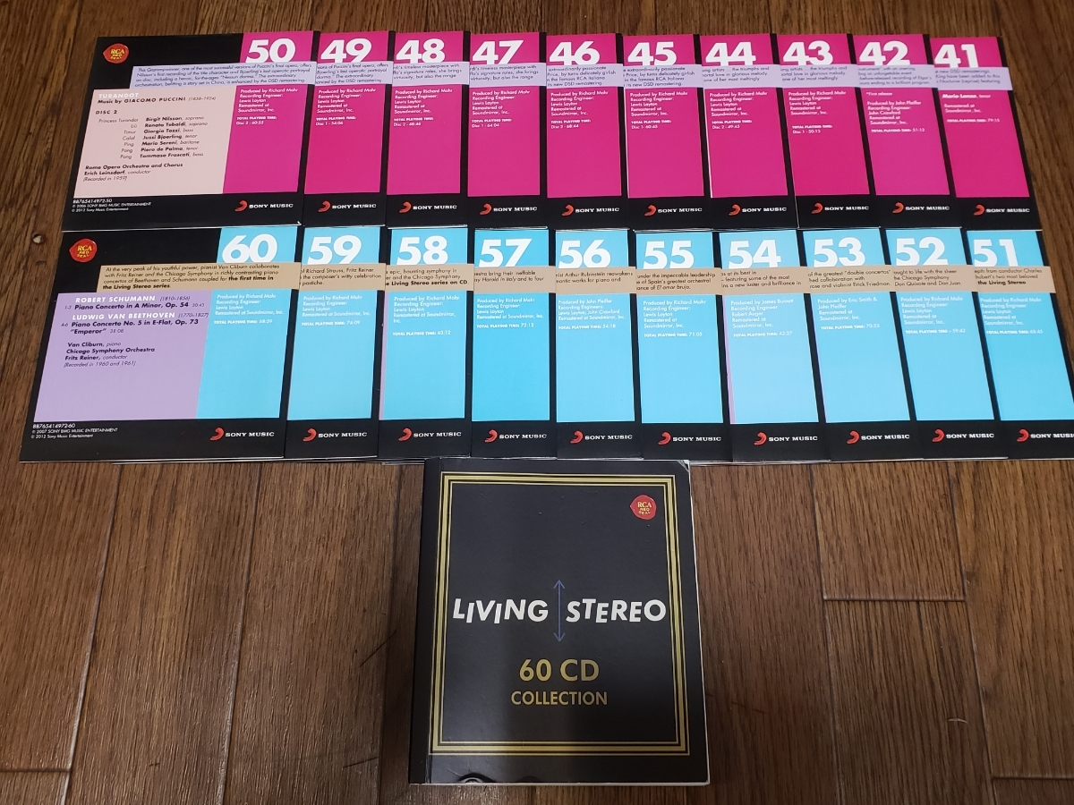 LIVING STEREO 60CD COLLECTON _画像3