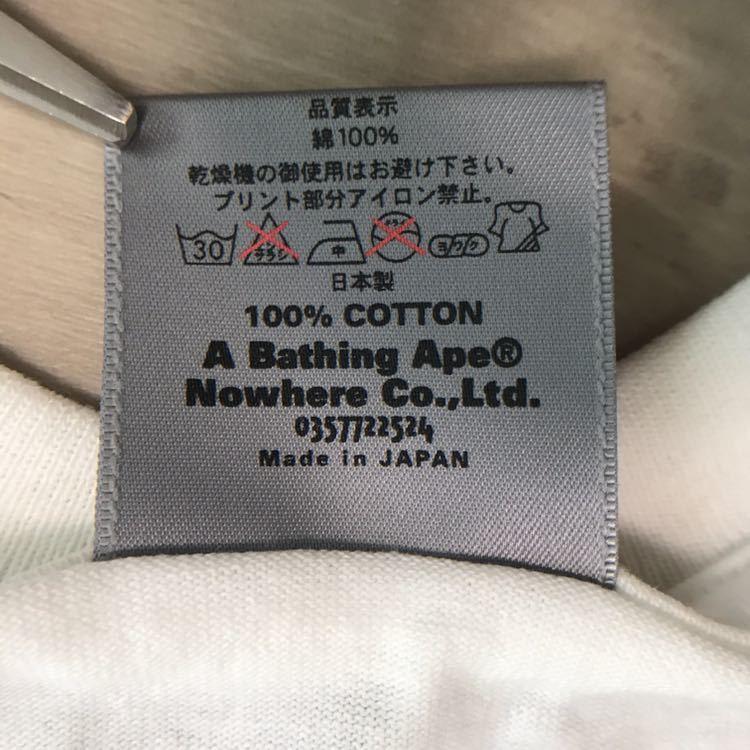 ★新品★ Manhattan Records × BAPE Tシャツ Lサイズ a bathing ape マンハッタンレコード エイプ ベイプ ABC camo ABCカモ nigo 迷彩_画像7