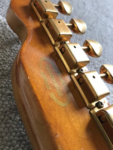 Fender Japan Custom Made EXTRAD! パーツ取り、製作ベースに! ジャンク扱いで_画像4
