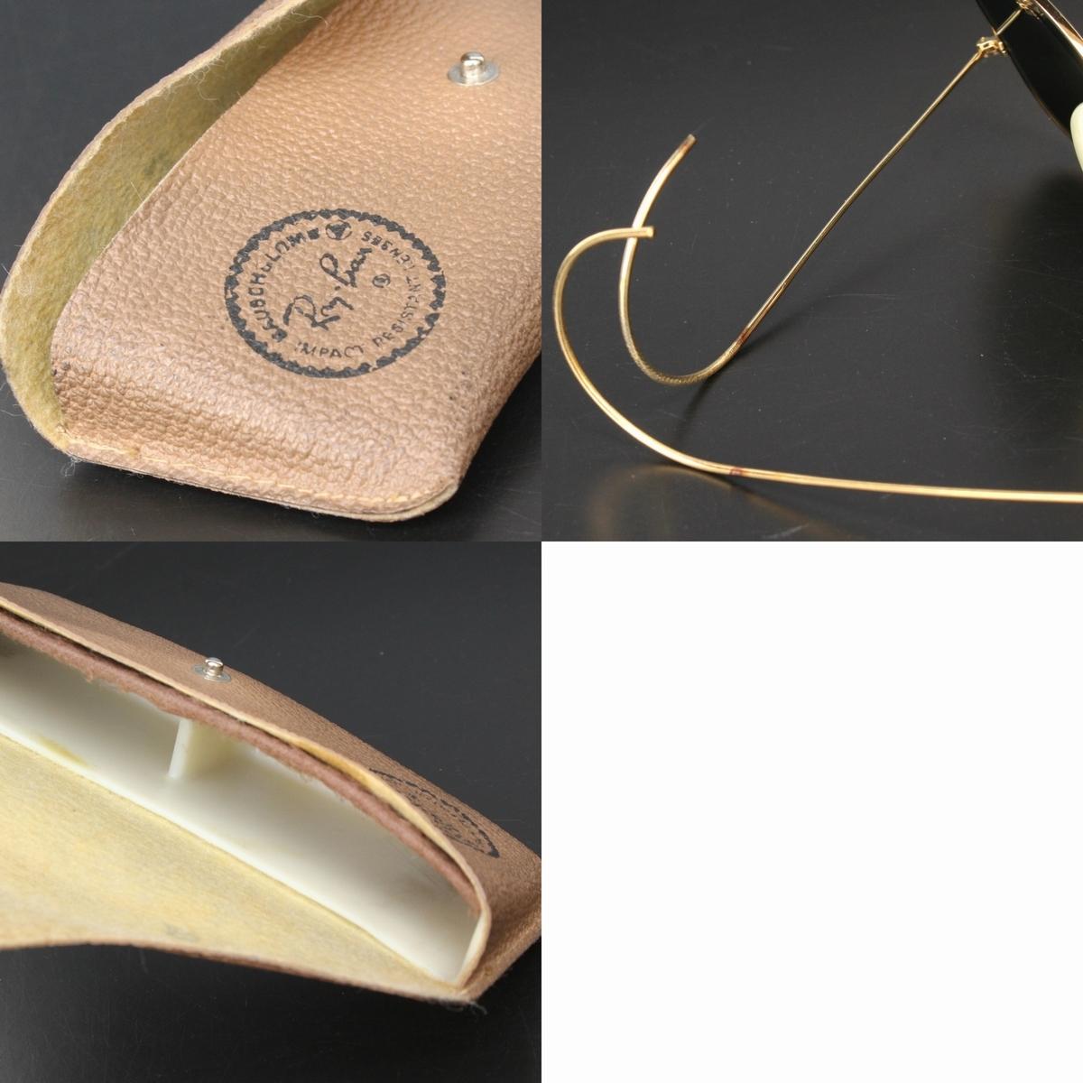 (yk98304)美品B&LボシュロムRayBanレイバン アウトドアーズマン58mm ミラー (80s-90s USA製サングラス ヴィンテージ ティアドロップなわて)_画像2