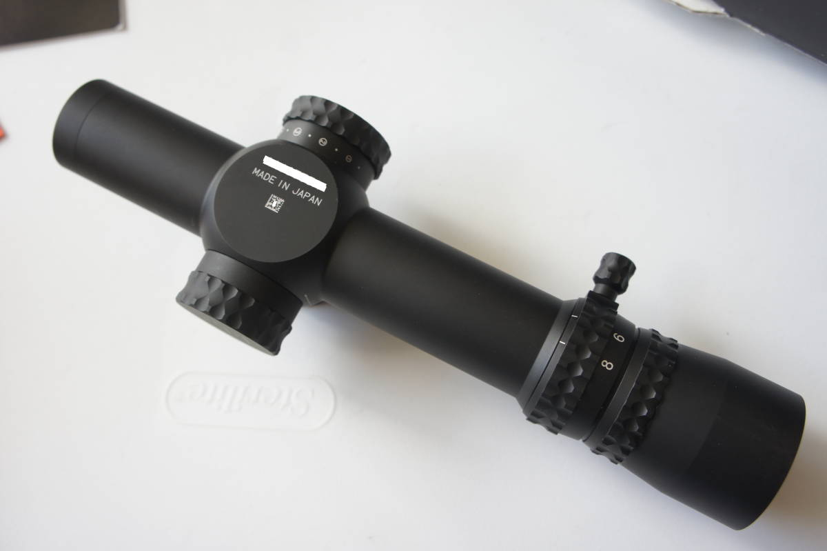 実物 官給仕様 Nightforce NXS 1-8x24mm F1 ゼロストップ MIL ナイトフォース ショートスコープ Laure ADM Trijicon Leupold KAC PVS _画像4