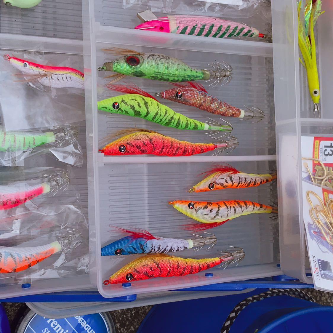 1円 海釣り 仕掛け いろいろ セット 鉛スッテ タコエギ ハリスなど 画像参照_画像5