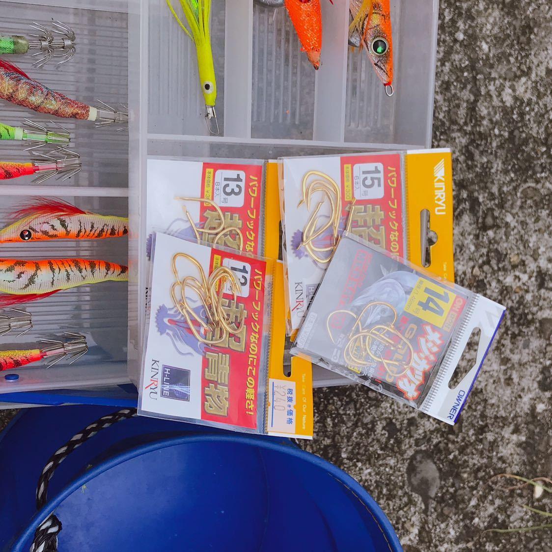 1円 海釣り 仕掛け いろいろ セット 鉛スッテ タコエギ ハリスなど 画像参照_画像3