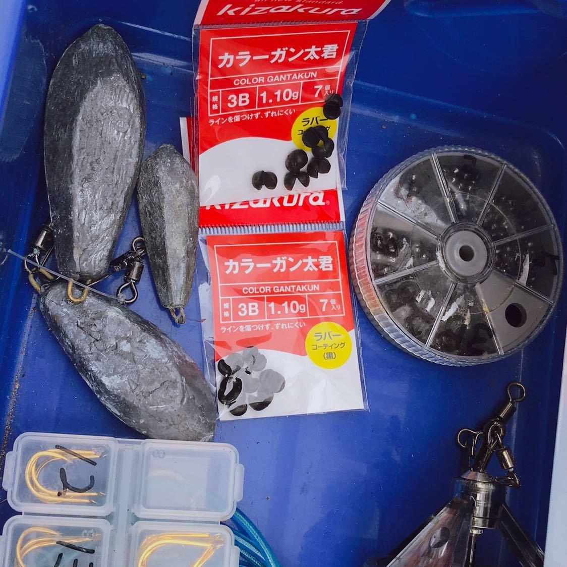 1円 海釣り 仕掛け いろいろ セット 鉛スッテ タコエギ ハリスなど 画像参照_画像9