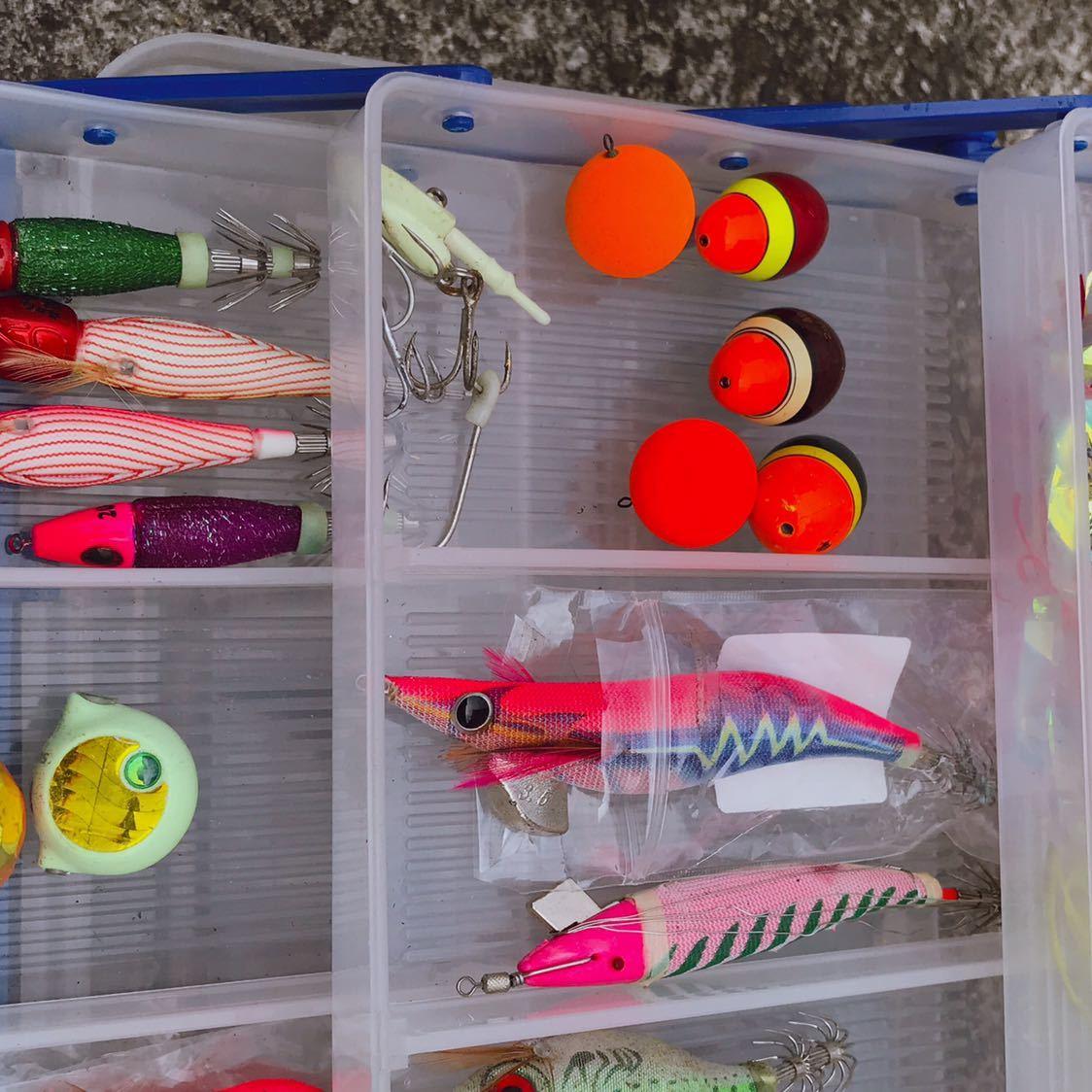 1円 海釣り 仕掛け いろいろ セット 鉛スッテ タコエギ ハリスなど 画像参照_画像6