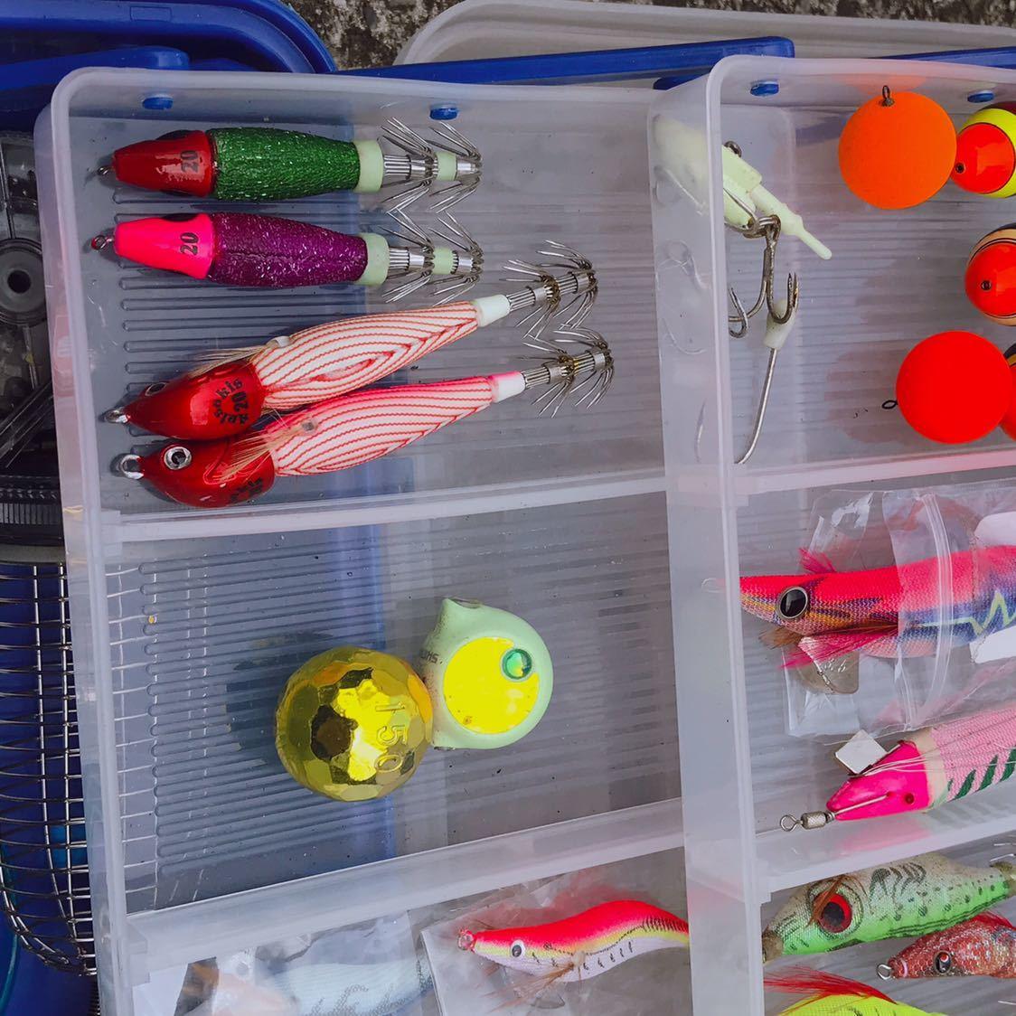 1円 海釣り 仕掛け いろいろ セット 鉛スッテ タコエギ ハリスなど 画像参照_画像7