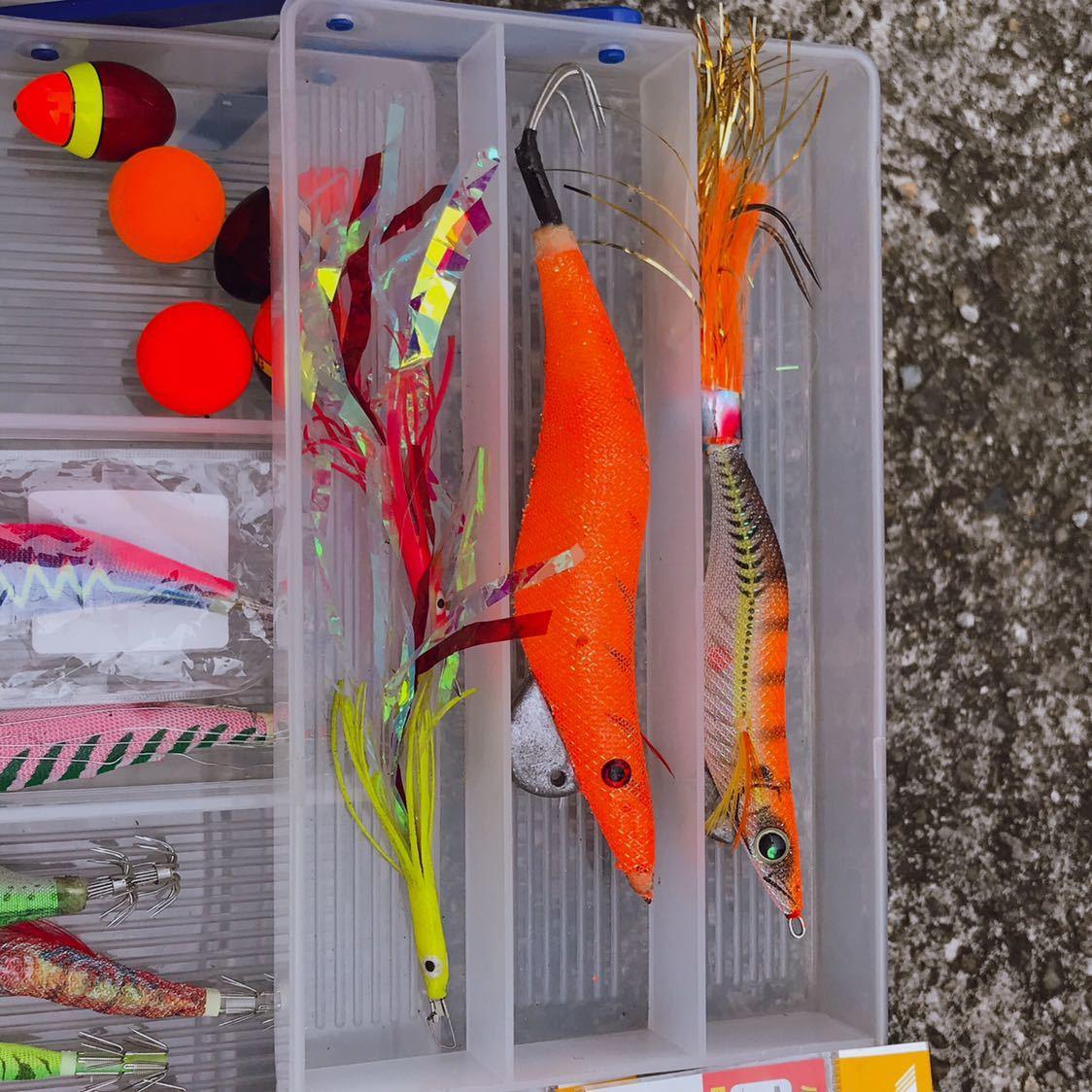 1円 海釣り 仕掛け いろいろ セット 鉛スッテ タコエギ ハリスなど 画像参照_画像4