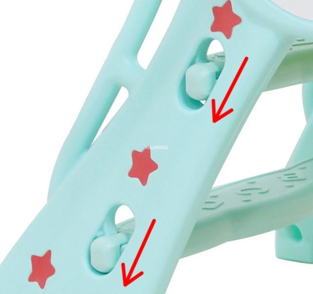 高品質★子狐滑り台 子供用スライド 室内すべり台 ベビー用滑り台 折りたたみ滑り台 遊園地組み合わせ 室内遊具 子供用おもちゃ R77-238_画像6