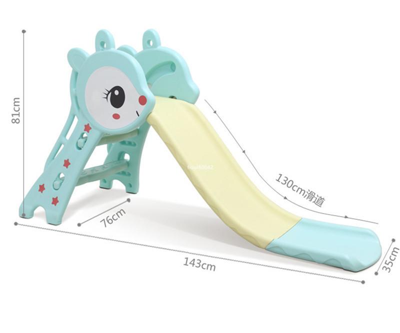 高品質★子狐滑り台 子供用スライド 室内すべり台 ベビー用滑り台 折りたたみ滑り台 遊園地組み合わせ 室内遊具 子供用おもちゃ R77-238_画像4