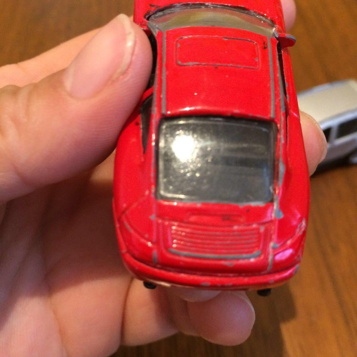 WELLY 2台 ポルシェ BMW とメーカー不明ポルシェ合計3台 ミニカー 中古_画像6
