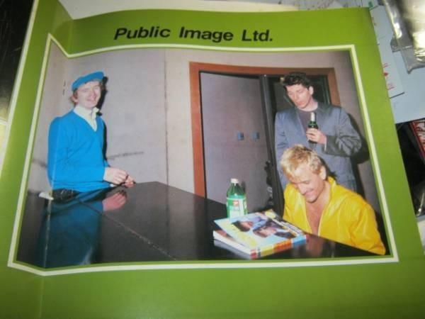 PiL PUBLIC IMAGE LTD. / SUMMER'83 JAPAN TOUR パンフ JOHNNY ROTTEN SEX PISTOLS セックスピストルズ パブリックイメージLTD_画像2