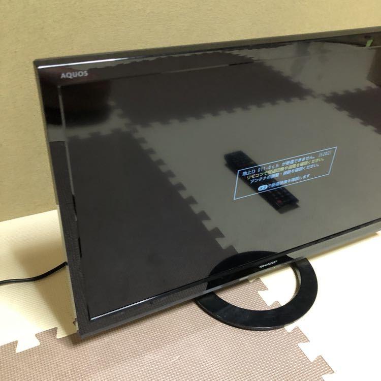 ☆必見☆ SHARP シャープ AQUOS LC-24K30 [24インチ] 液晶テレビ 24V型 2015年製 リモコン付き 動作品_画像3