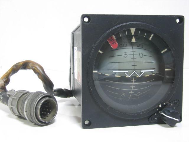コックピット アナログ計器 姿勢指示器/ADI 1983年 戦闘機用 自衛隊/米軍 F-4 ファントム?