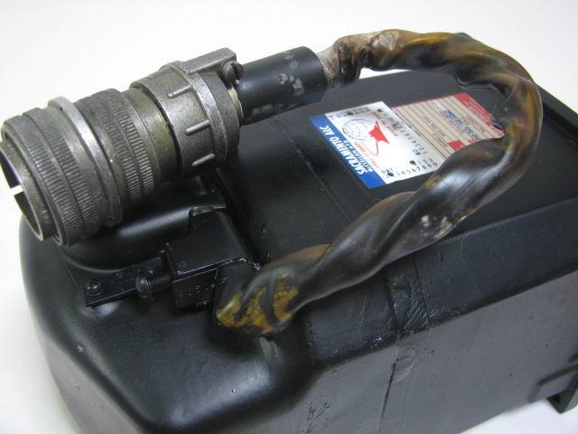 コックピット アナログ計器 姿勢指示器/ADI 1983年 戦闘機用 自衛隊/米軍 F-4 ファントム?_画像6
