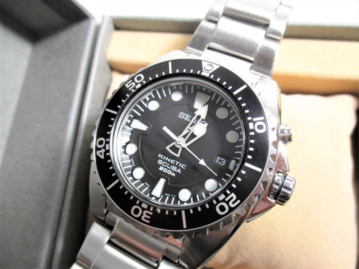売切 美品 プロスペックス ダイバースキューバ キネティック SBCZ011 (40