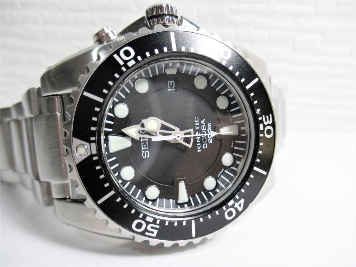 売切 美品 プロスペックス ダイバースキューバ キネティック SBCZ011 (40_画像4