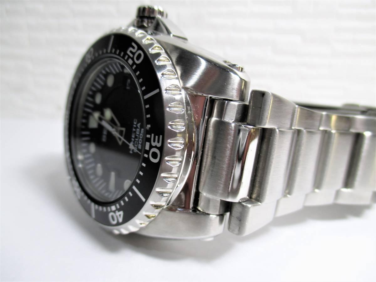 売切 美品 プロスペックス ダイバースキューバ キネティック SBCZ011 (40_画像5