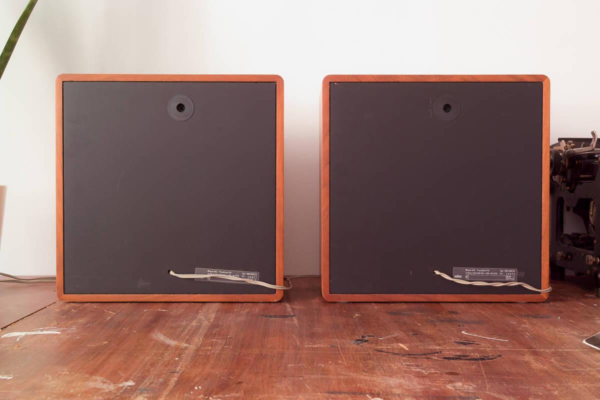 本格ドイツ音響 Braun SM1002S 超貴重 Dieter Rams Design Studio Monitor 完全動作品 Charlie Studio Warszawa から送料無料!_画像8