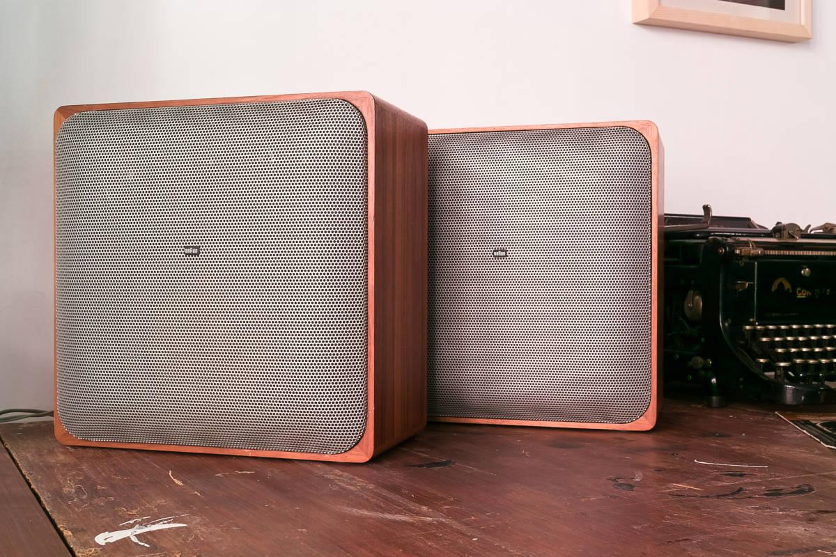 本格ドイツ音響 Braun SM1002S 超貴重 Dieter Rams Design Studio Monitor 完全動作品 Charlie Studio Warszawa から送料無料!_画像2
