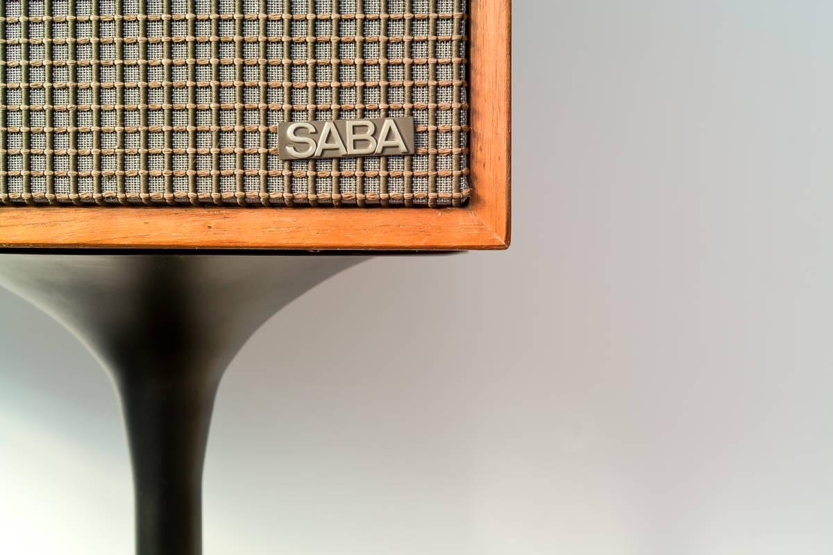 値下げ交渉有 SABA IIA (2A) 60年代西ドイツ傑作業務機 ビンテージSABAフラッグシップモニター 完全動作品 本場ヨーロッパから送料無料!! _画像8