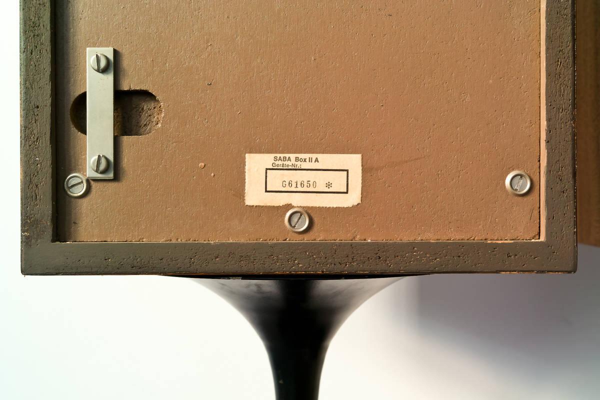 値下げ交渉有 SABA IIA (2A) 60年代西ドイツ傑作業務機 ビンテージSABAフラッグシップモニター 完全動作品 本場ヨーロッパから送料無料!! _画像4