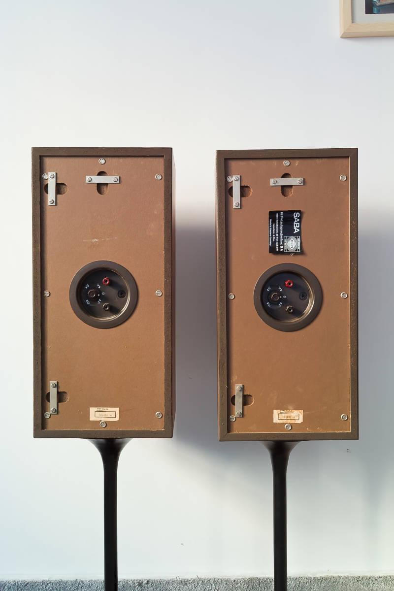 値下げ交渉有 SABA IIA (2A) 60年代西ドイツ傑作業務機 ビンテージSABAフラッグシップモニター 完全動作品 本場ヨーロッパから送料無料!! _画像3