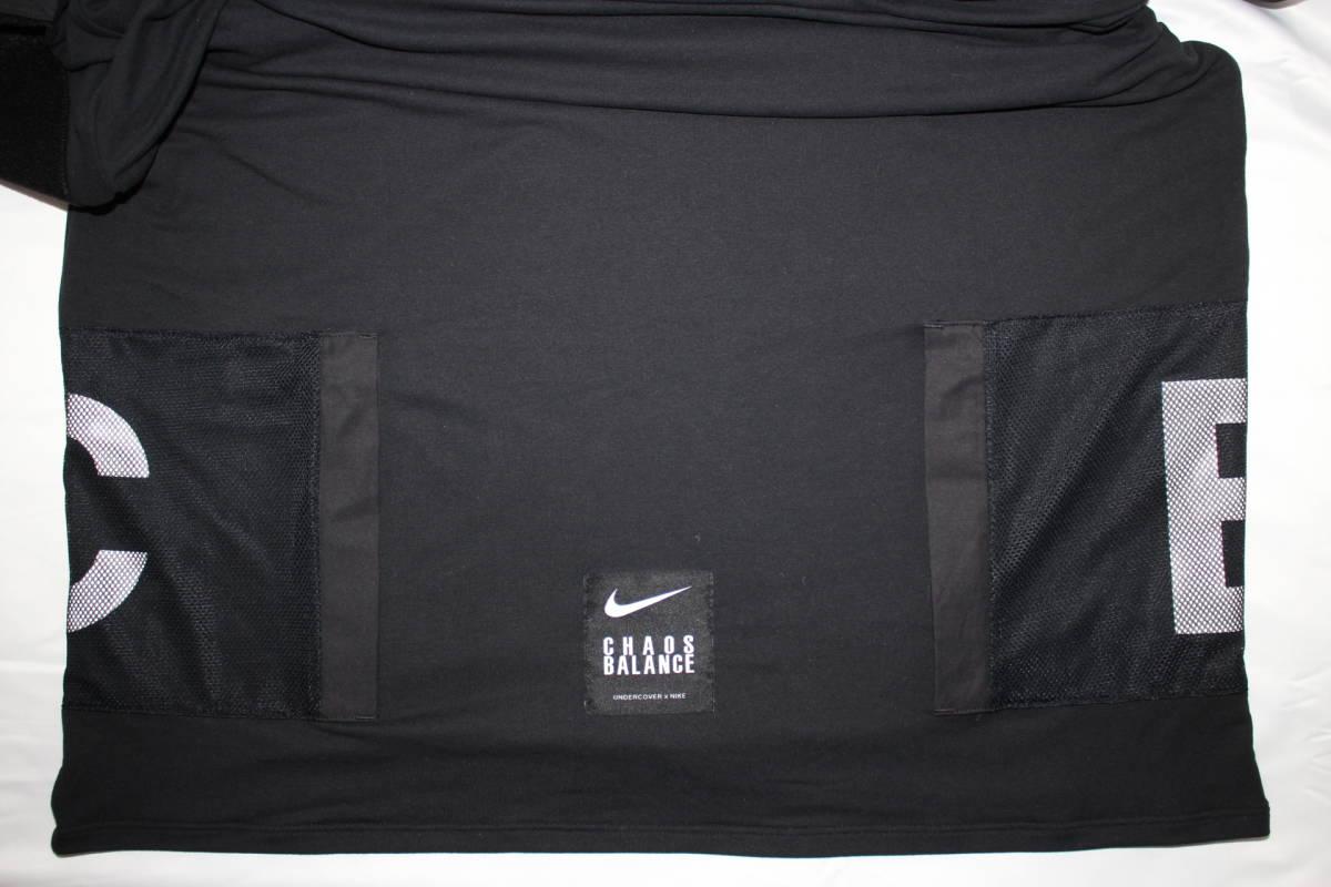 ナイキ × アンダーカバー コラボ Tシャツ 黒 M 新品 NIKE x UNDERCOVER CHAOS BALANCE TEE BLACK NEW 2019SS_画像6