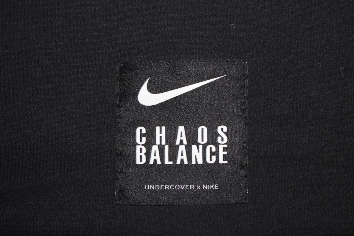 ナイキ × アンダーカバー コラボ Tシャツ 黒 M 新品 NIKE x UNDERCOVER CHAOS BALANCE TEE BLACK NEW 2019SS_画像7