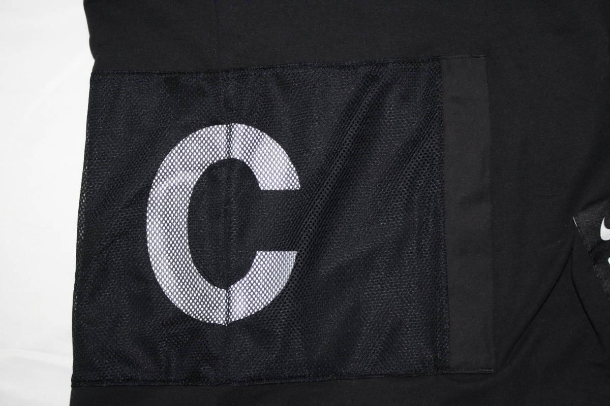 ナイキ × アンダーカバー コラボ Tシャツ 黒 M 新品 NIKE x UNDERCOVER CHAOS BALANCE TEE BLACK NEW 2019SS_画像9