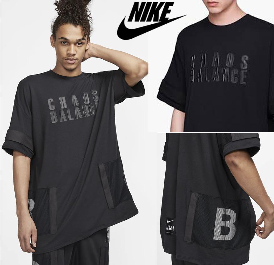 ナイキ × アンダーカバー コラボ Tシャツ 黒 M 新品 NIKE x UNDERCOVER CHAOS BALANCE TEE BLACK NEW 2019SS
