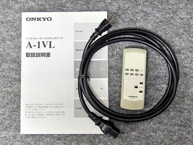 ONKYO オンキョー / プリメインアンプ / A-1VL / 日本製_画像9