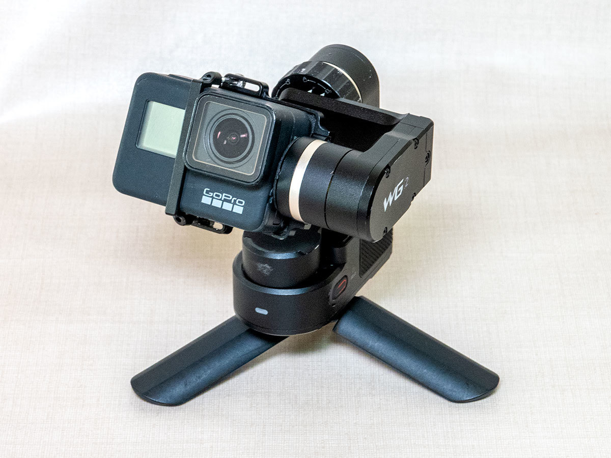 feiyu-tech フェイユーテック アクションカメラ向けウェアラブルジンバル WG2 防水 中古