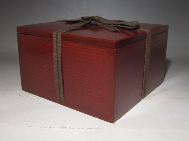 古萩茶碗 表千家八代卒啄斎花押の逸品t400_画像10