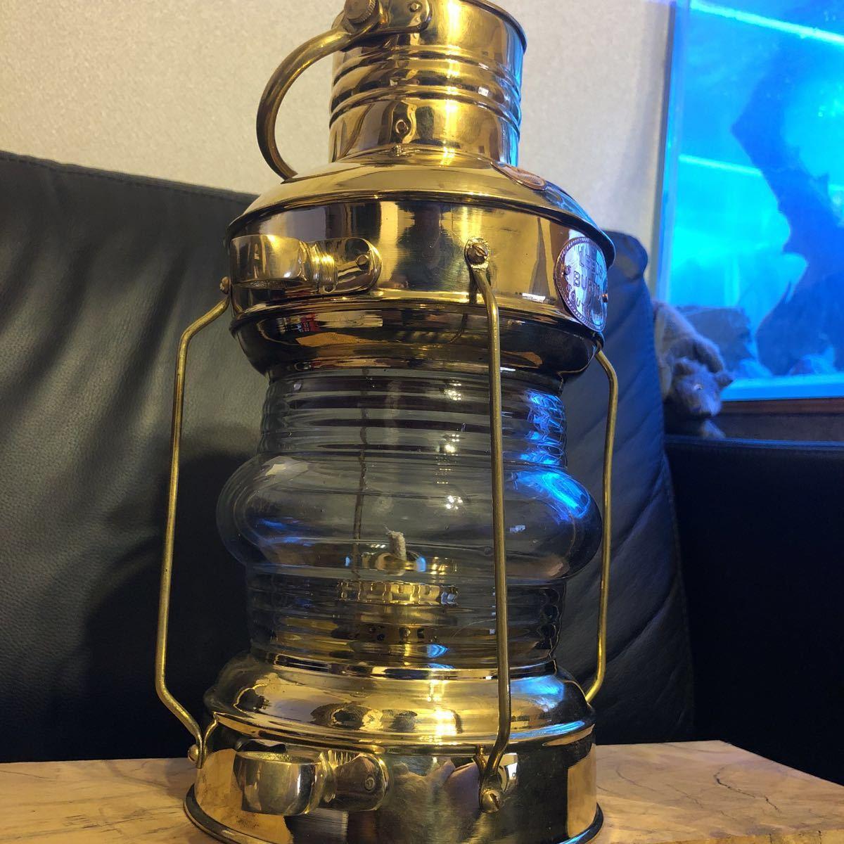 物が増え過ぎました。真鍮 ブラス ランタン ケロシン ランタン アルコール ランプ マイナー ランプ ネルソン マリンランプ カンテラ_画像10