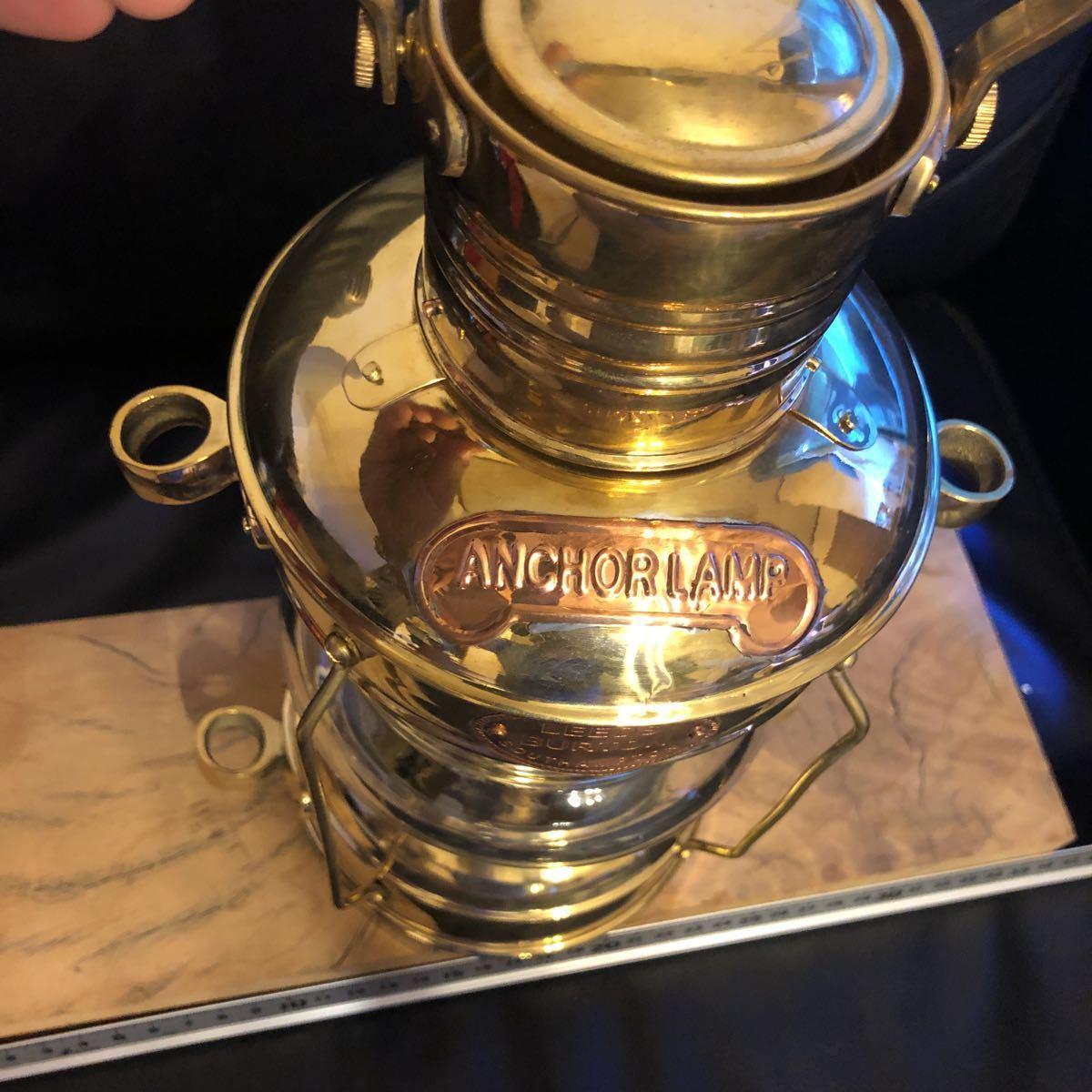 物が増え過ぎました。真鍮 ブラス ランタン ケロシン ランタン アルコール ランプ マイナー ランプ ネルソン マリンランプ カンテラ_画像9