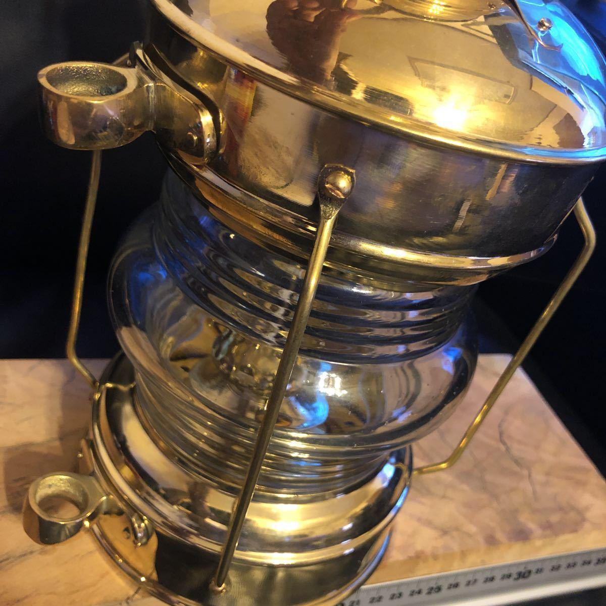 物が増え過ぎました。真鍮 ブラス ランタン ケロシン ランタン アルコール ランプ マイナー ランプ ネルソン マリンランプ カンテラ_画像8