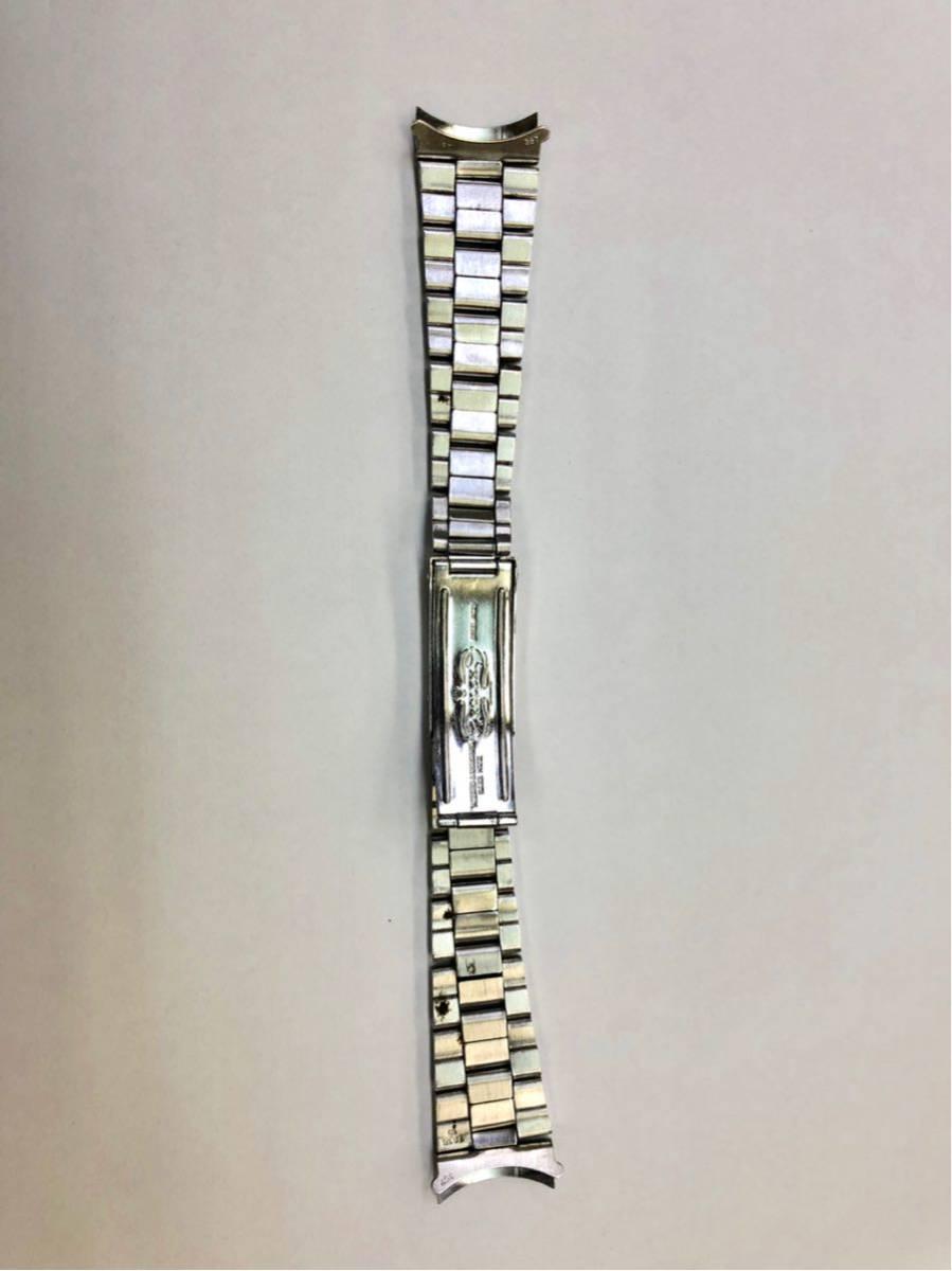 ROLEXロレックス 3連巻き込み純正ブレス 19mm 13コマ Ref.7835-19 FF.357 アンティーク (オイスターデイト プレシジョン 送料込_画像3