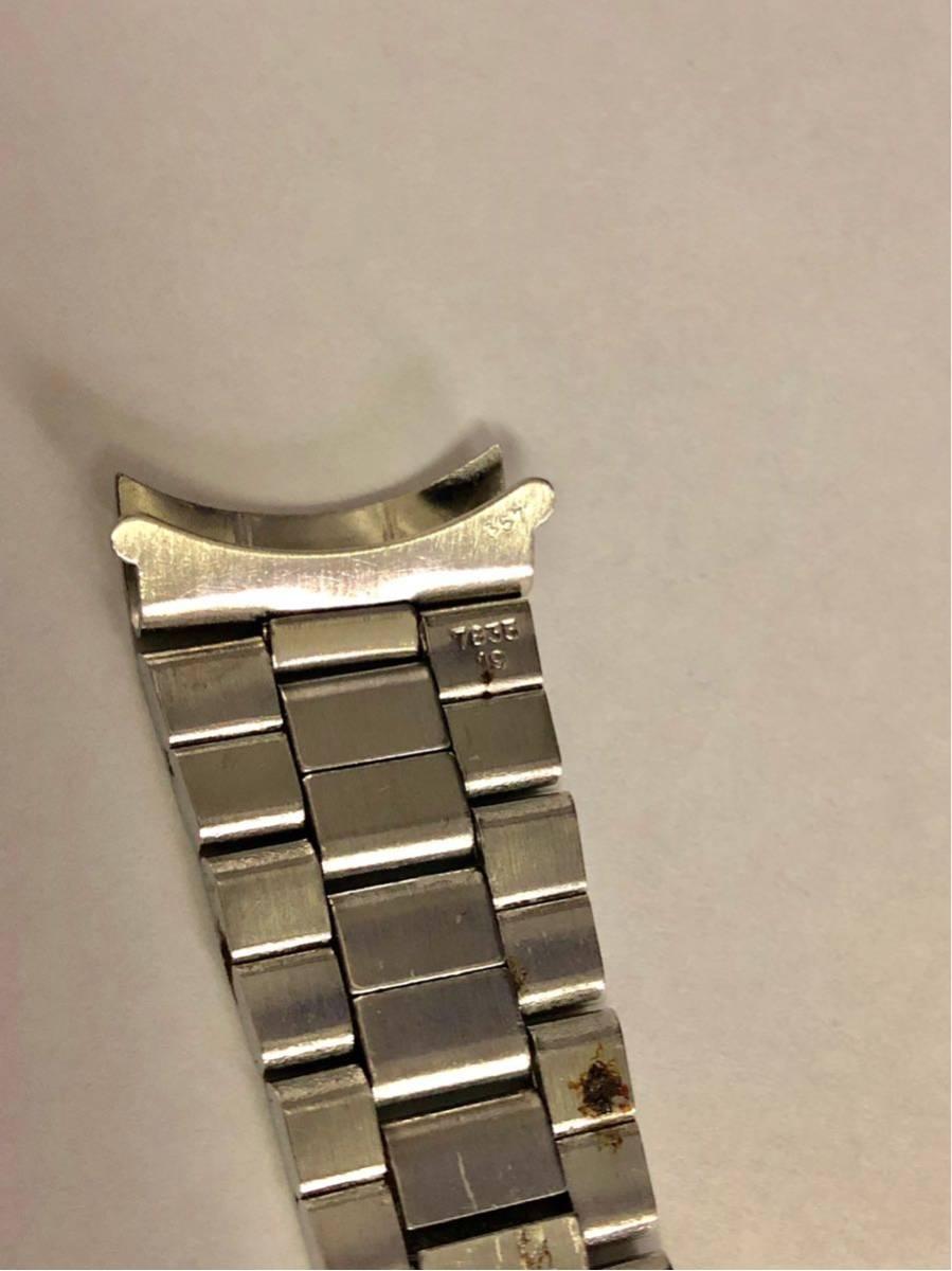 ROLEXロレックス 3連巻き込み純正ブレス 19mm 13コマ Ref.7835-19 FF.357 アンティーク (オイスターデイト プレシジョン 送料込_画像5