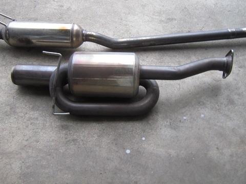 インテグラDC5 無限マフラー is S タイプR