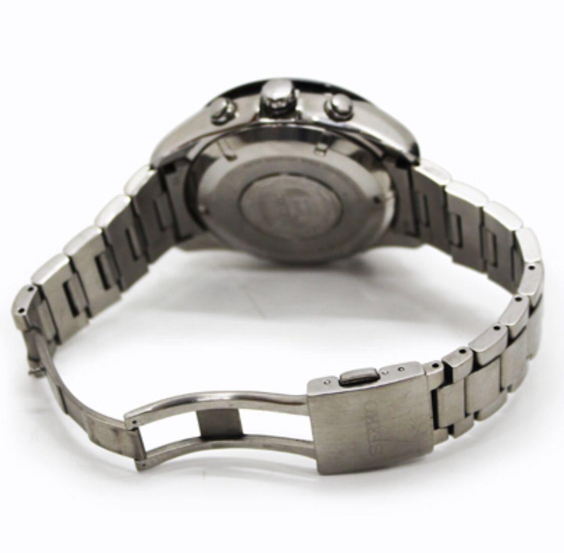 極上稼動美品!セイコー アストロン GPS ソーラー 7X52-0AA0 チタン メンズ 腕時計 取説 アストロンDVD 早い者勝ち!_画像7