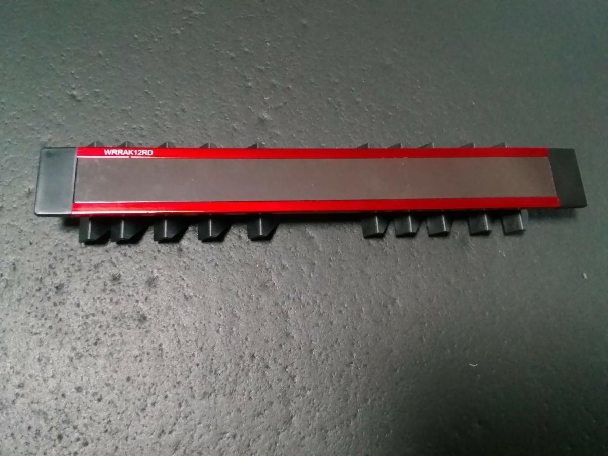 スナップオン(SNAP-ON) マグネット付きレンチホルダー 赤色_画像5