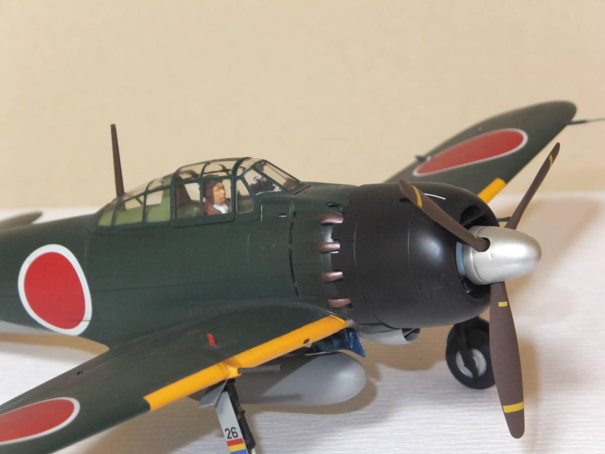 タミヤ1/48マスターワークコレクション No74零戦52型甲ヨD-126号機(完成品)_画像3