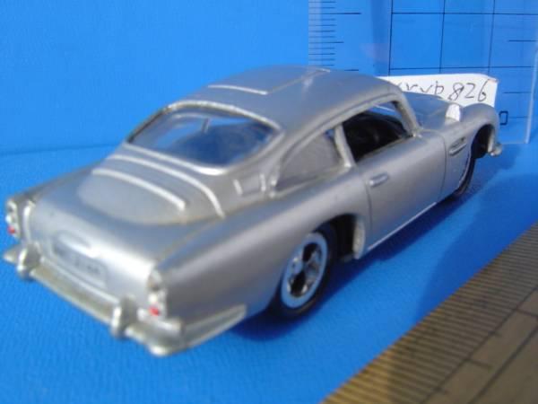 ダイキャストアストンマーチン車007ジェームズボンドカー合金属 Aston Martin james bond carムービー_画像3