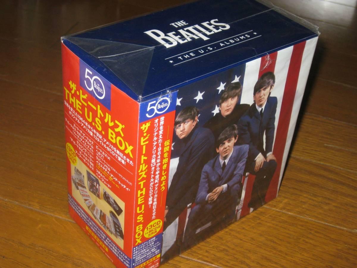 初回生産限定盤!正規国内仕様・Beatles(ビートルズ)・13CD・「ザ ビートルズ・THE U.S.BOX」_画像1